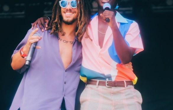 Kweku Collins & Ric Wilson @ Pitchfork Music Festival 7/20/19. Photo by Aubrey Wipfli (@aubreyy) for www.BlurredCulture.com.