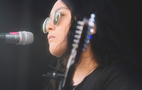 Jay Som @ Pitchfork Music Festival 7/20/19. Photo by Aubrey Wipfli (@aubreyy) for www.BlurredCulture.com.