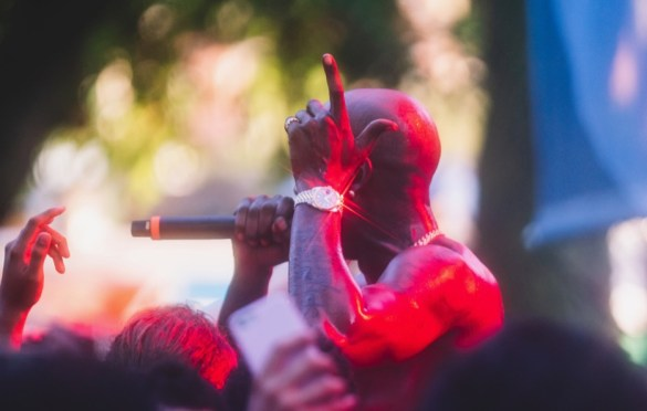 Freddie Gibbs @ Pitchfork Music Festival 7/20/19. Photo by Aubrey Wipfli (@aubreyy) for www.BlurredCulture.com.