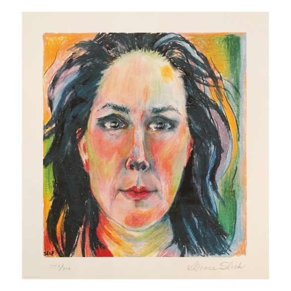 """Self Portrait"" by Grace Slick"