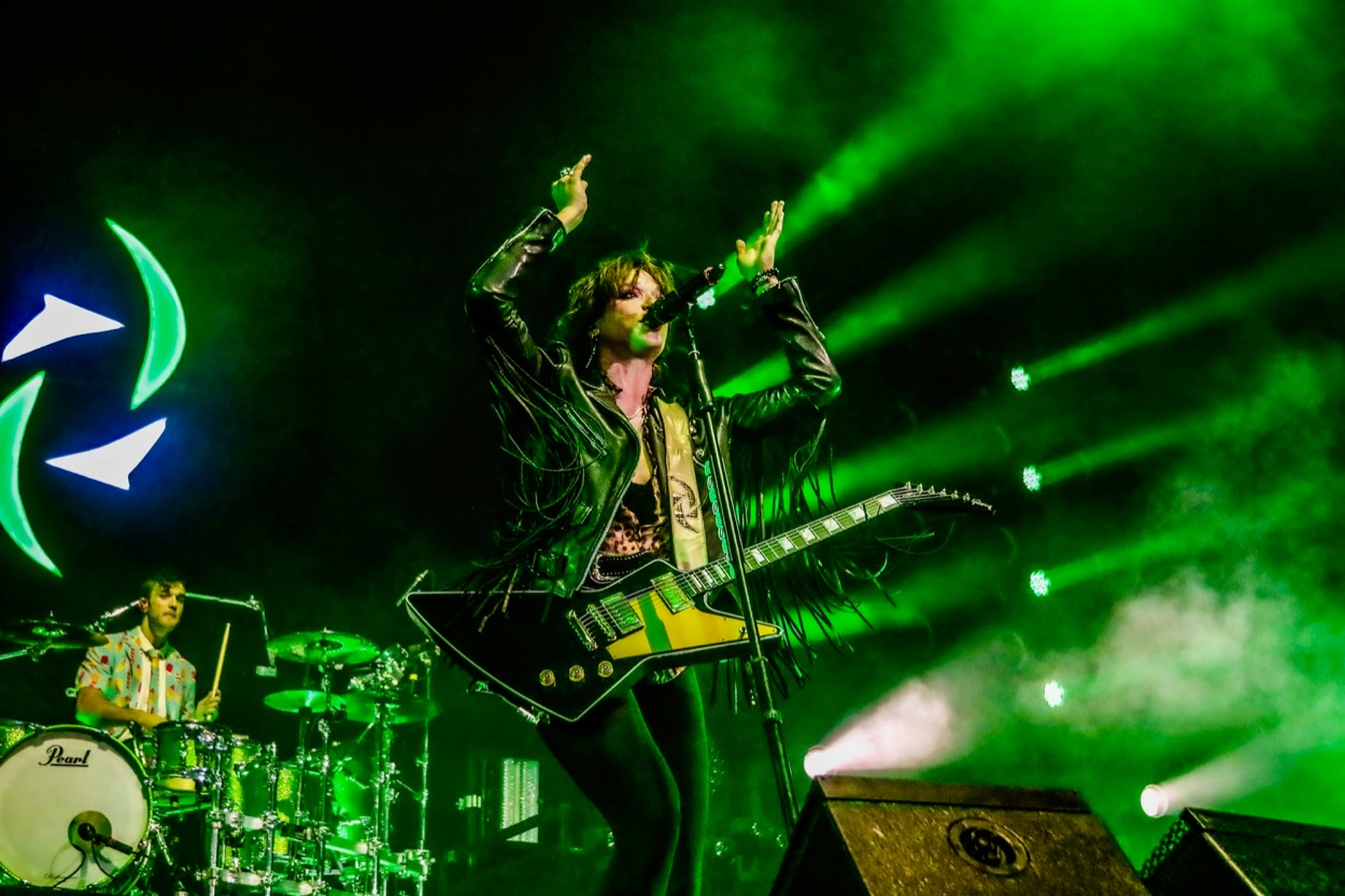 Halestorm @ Toyota Arena 10/13/19. Photo by Michael Bunuan. (@Michael_Bunuan_Photogrpahy) for www.BlurredCulture.com.