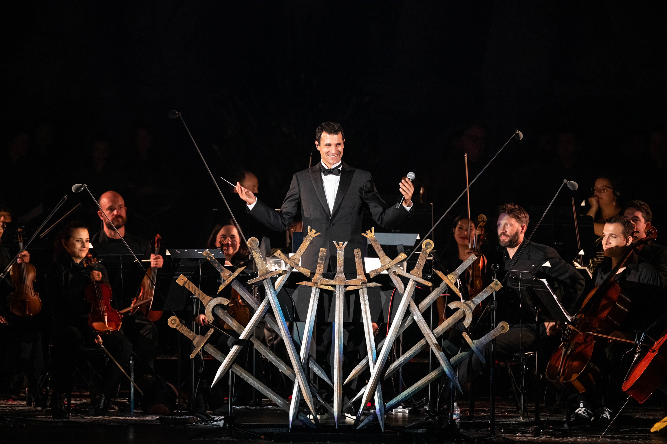 Game of Thrones Live Concert Experience: Ramin Djawadi 10/5/19. Photo by Andrés Jiménez. Courtesy of the artist. Used with permission.