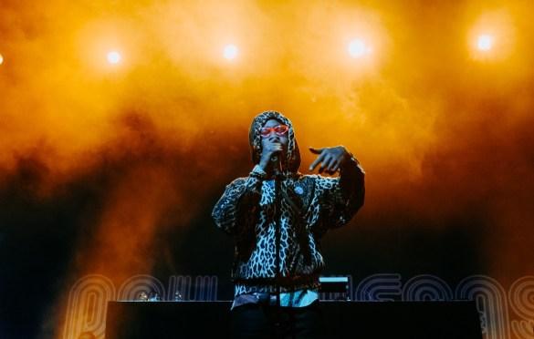 Lil Tracy @ Day N Vegas 11/3/19. Photo by Ian Zamorano (@ChamoIsDead) for www.BlurredCulture.com.
