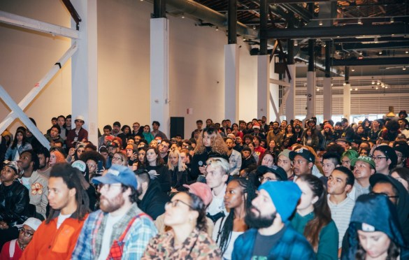 Earl Sweatshirt x MOCA Q&A 12/7/19. Photo by Peru Williams (@THEDANKCRUSADER). Courtesy of Warner Records. Used with permission.