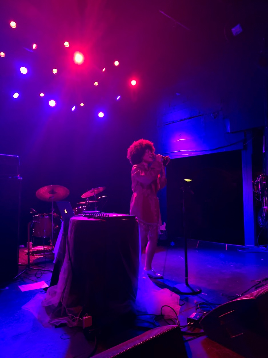Madison McFerrin @ The Echo 11/21/19. Photo by Jessica Moog (@JessicaNMoog) for www.BlurredCulture.com.
