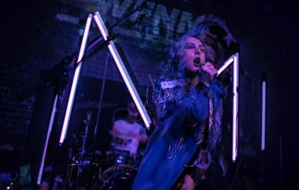 Mothica @ The Hi Hat 12/11/19. Photo by Derrick K. Lee, Esq. (@Methodman13) for www.BlurredCulture.com.