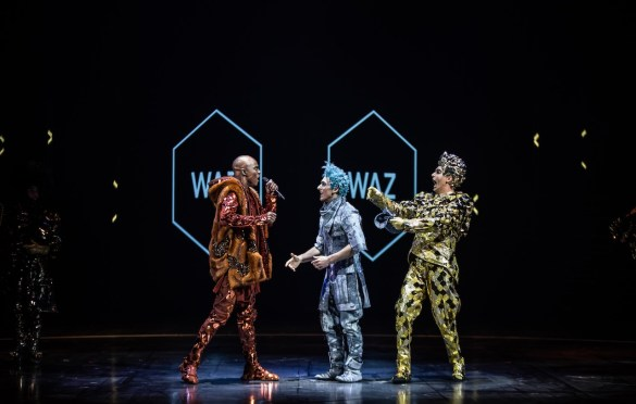 Volta. Photo by Matt Beard. Costumes by Zaldy. Courtesy of Cirque Du Soleil. Used with permission.