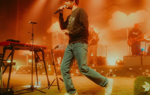 Rex Orange County @ Danforth Music Hall 1/29/20. Photo by Jackson Fleming (@JacksonHFleming) for www.BlurredCulture.com.