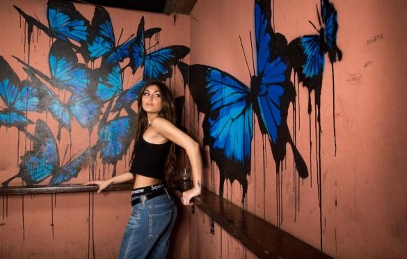 Julia Rizik Portrait @ Madame Siam 11/2/19. Photo by Derrick K. Lee, Esq. (@Methodman13) for www.BlurredCulture.com.