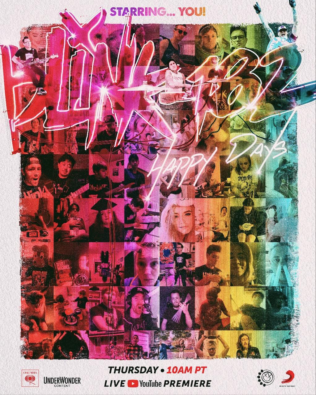 Blink-182. Happy Days Promo.