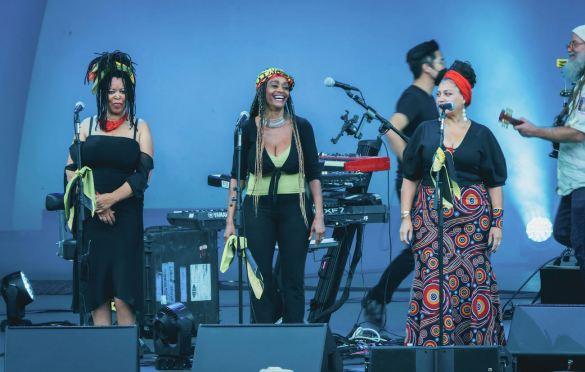 Ziggy Marley at The Hollywood Bowl 8/1/21. Photo by Steph Velastegui (@Stephtonesphoto) for www.BlurredCulture.com.