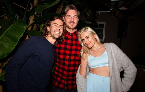 Talker and Friends @ LA Music Scene Private Party 8/28/21. Photo by Derrick K. Lee, Esq. (@Methodman13) for www.BlurredCulture.com.