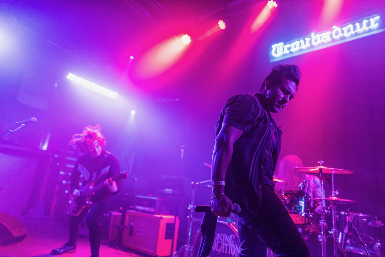 Chasing Desolation @ The Troubadour 9/4/21. Photo by Derrick K. Lee, Esq. (@Methodman13) for www.BlurredCulture.com.