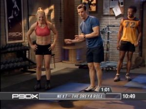 Today's workout - P90X Core Synergistics - Blush and Barbells