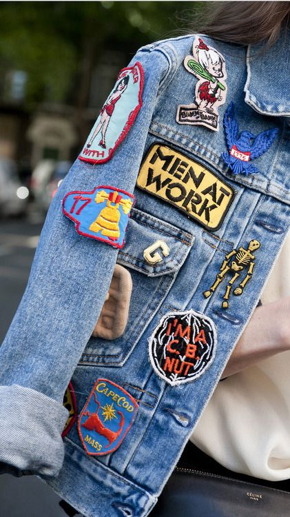 patch denim jacket guide how to