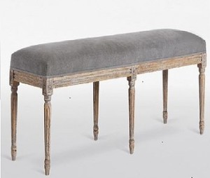 Juliette Bench Swoon Editions Grey
