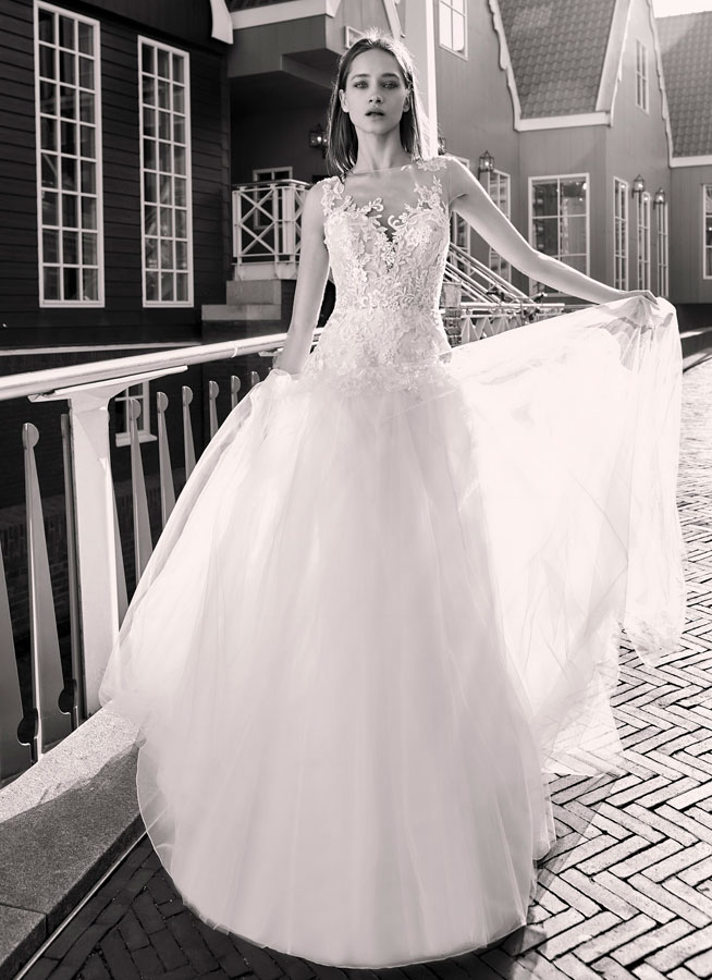 Basil-ModecaBlushing Bridal Boutique -lace tulle-haute couture-illusion-bridal-wedding-wedding gown-Mississauga-woodbridge-vaughan-toronto-gta-ontario-canada
