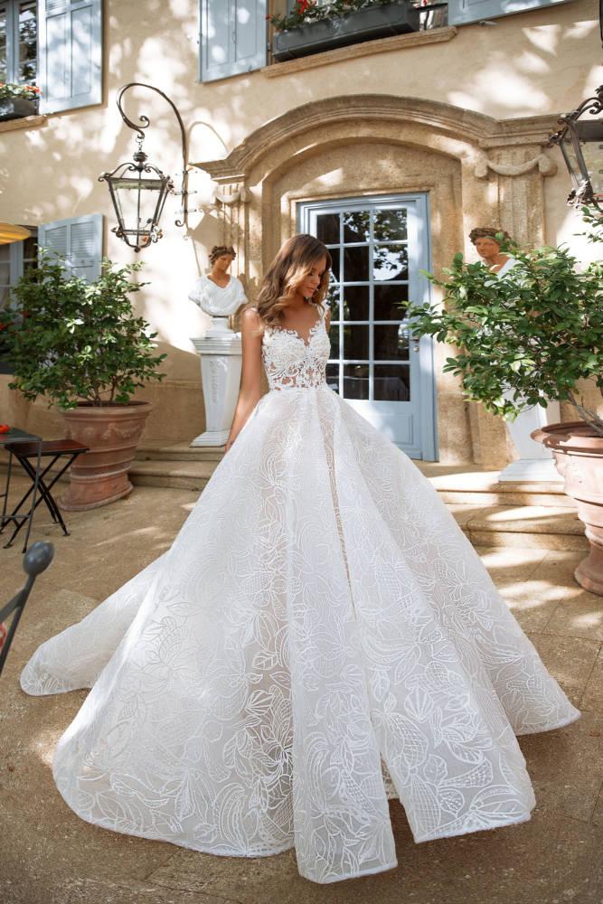Blushing Bridal Boutique ,MillaNova,lorenzo rossi, KameliaBlushing Bridal Boutique -MillaNova-once in the palace-lace tulle-haute couture-illusion-bridal-wedding-wedding gown-woodbridge-vaughan-mississauga-toronto-gta-ontario-canada