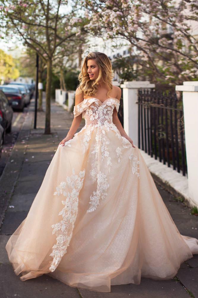 Blushing Bridal Boutique ,MillaNova, Lora, -bridal-wedding-wedding gown-Mississauga-woodbridge-vaughan-toronto-gta-ontario-canada-montreal-buffalo-NYC-california London, New Collection 2019,
