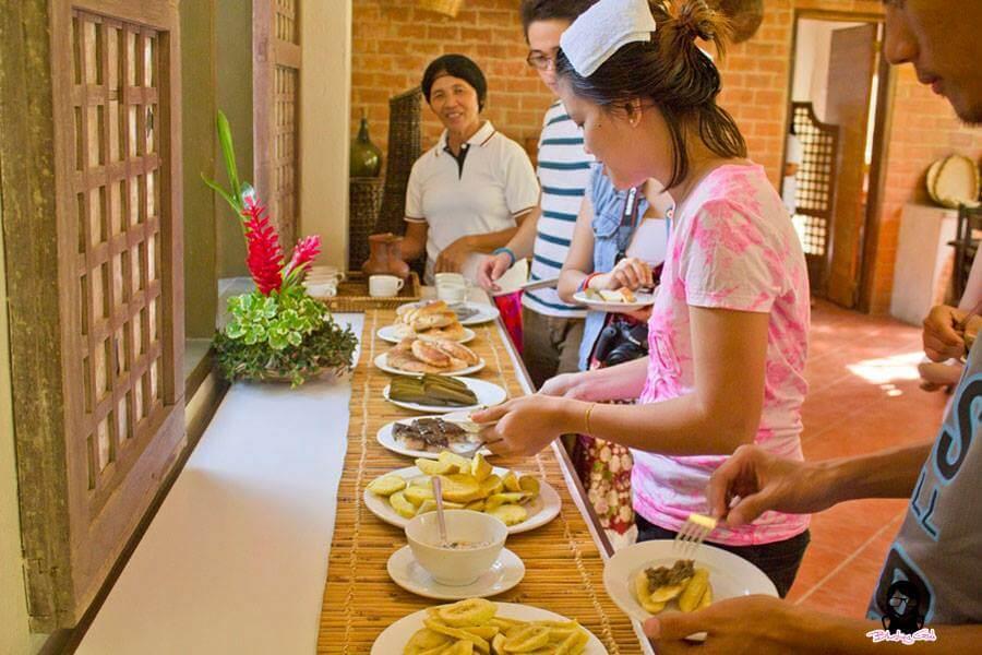 Filipino snacks during our Bojo River Cruise tour in Aloguinsan | Blushing Geek