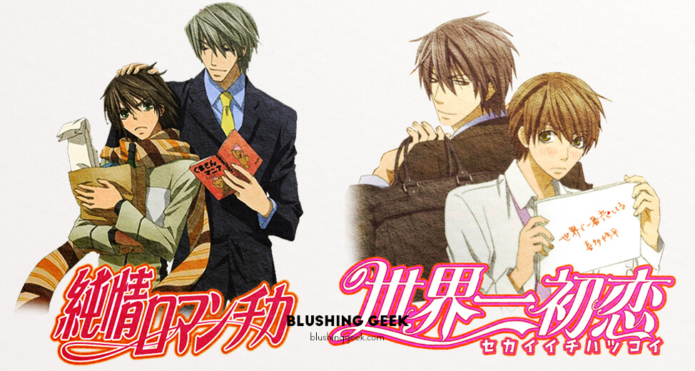 Anime Review - Junjou Romantica & Sekaiichi Hatsukoi | Blushing Geek