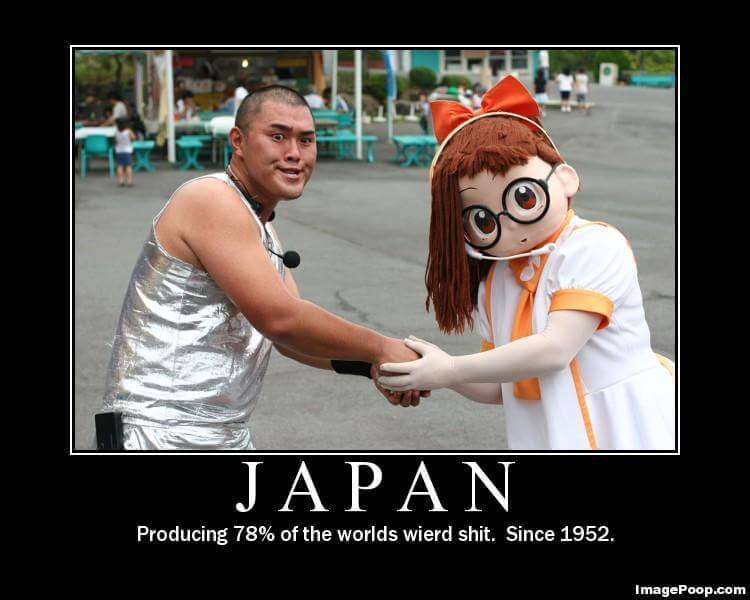 13 Reasons Why I Love Japan - Weirdness   Blushing Geek