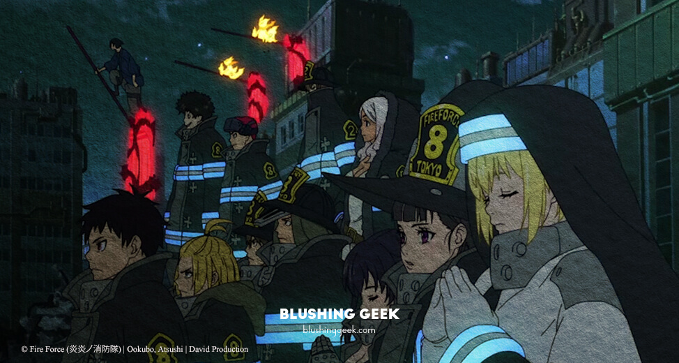 Anime Review - Fire Force | Blushing Geek