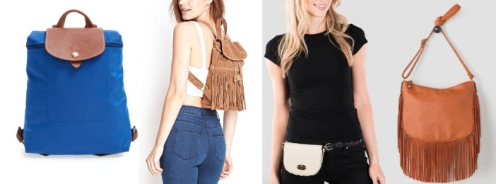 Bags and mini backpacks to wear to Coachella 2015