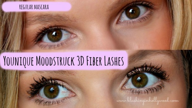 Younique Moodstruck 3D Fiber Lashes Demo & Review