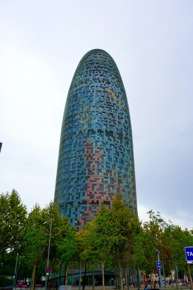 Torre Agbar in Barcelona