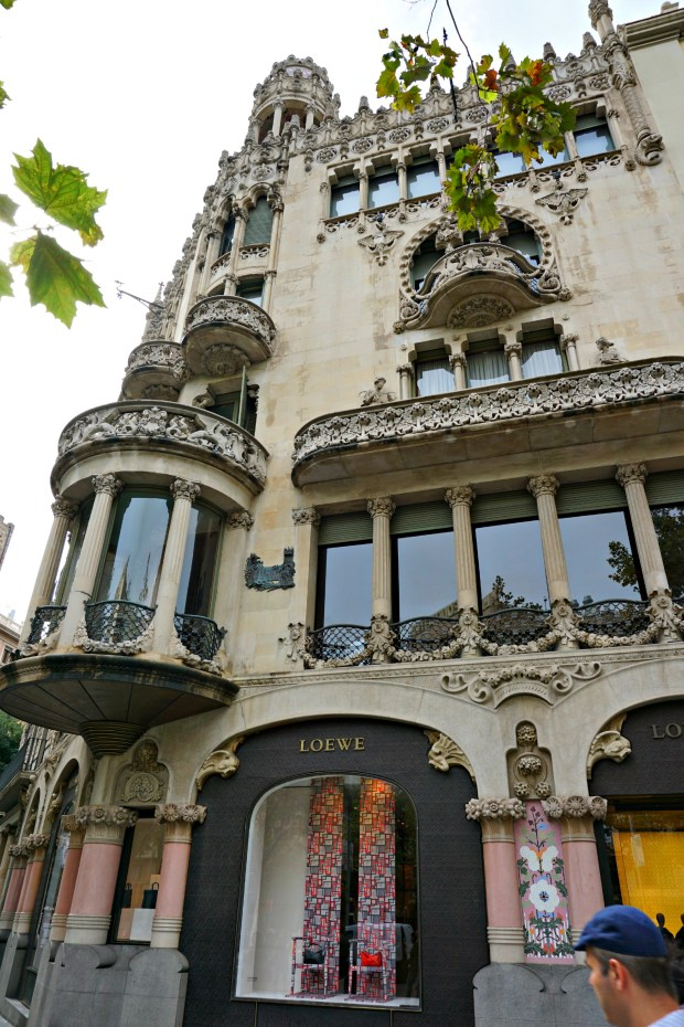Casa Lleo on The Block of Discord in Barcelona