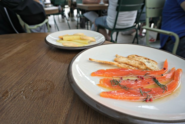 Tapas at Mussols in Barcelona