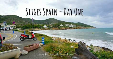 Sitges is a beautiful old beach town just outside of Barcelona in Spain.