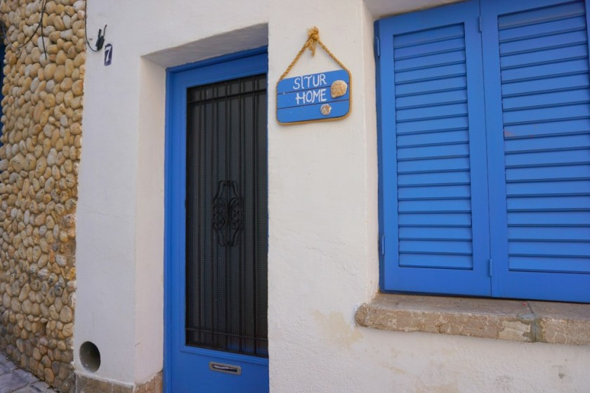 House sign in Sitges Spain