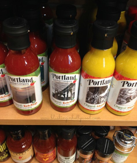 Portland Organic Ketchup and Mustard- They had this stuff at every restaurant we went to and you can buy it at the PDX airport at it's normal price (not marked up)!