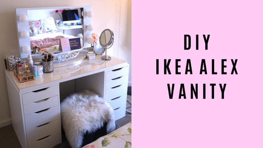 DIY IKEA ALEX VANITY BY BLUSHINGINHOLLYWOOD.COM