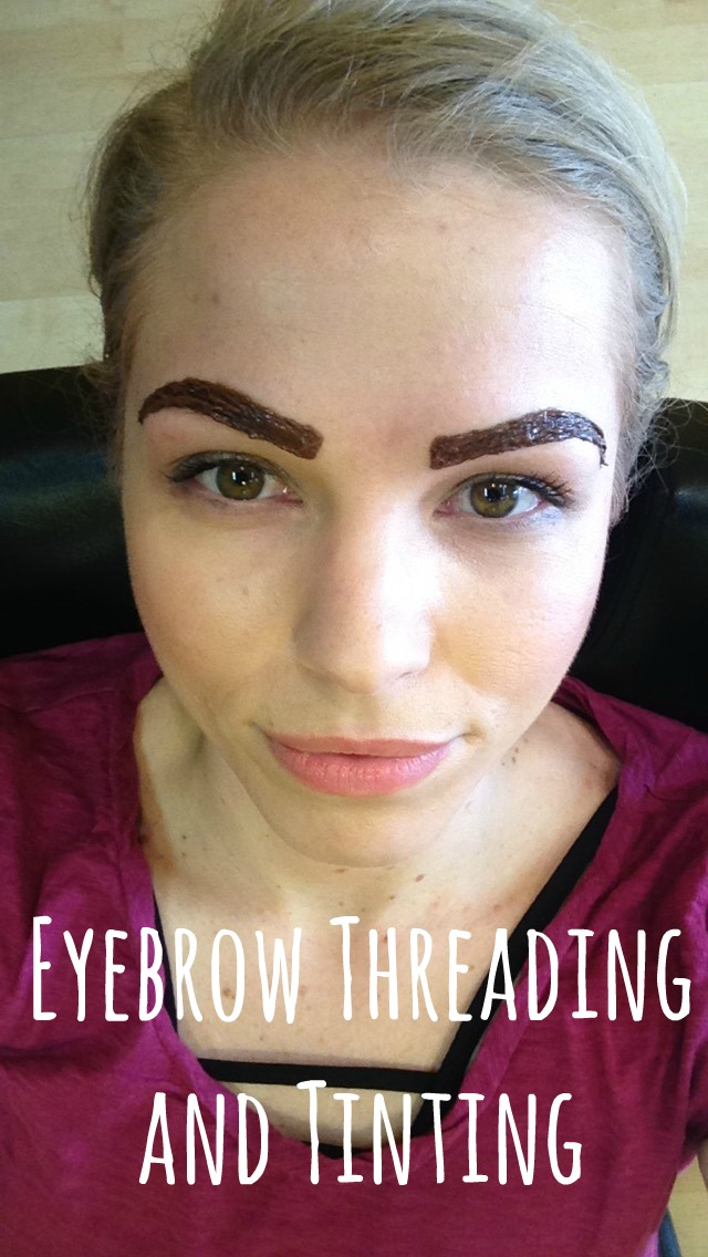 Eyebrow Threading and Tinting