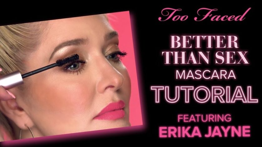 Erika Jayne is a spokeswoman for Too Faced Better Than Sex Mascara