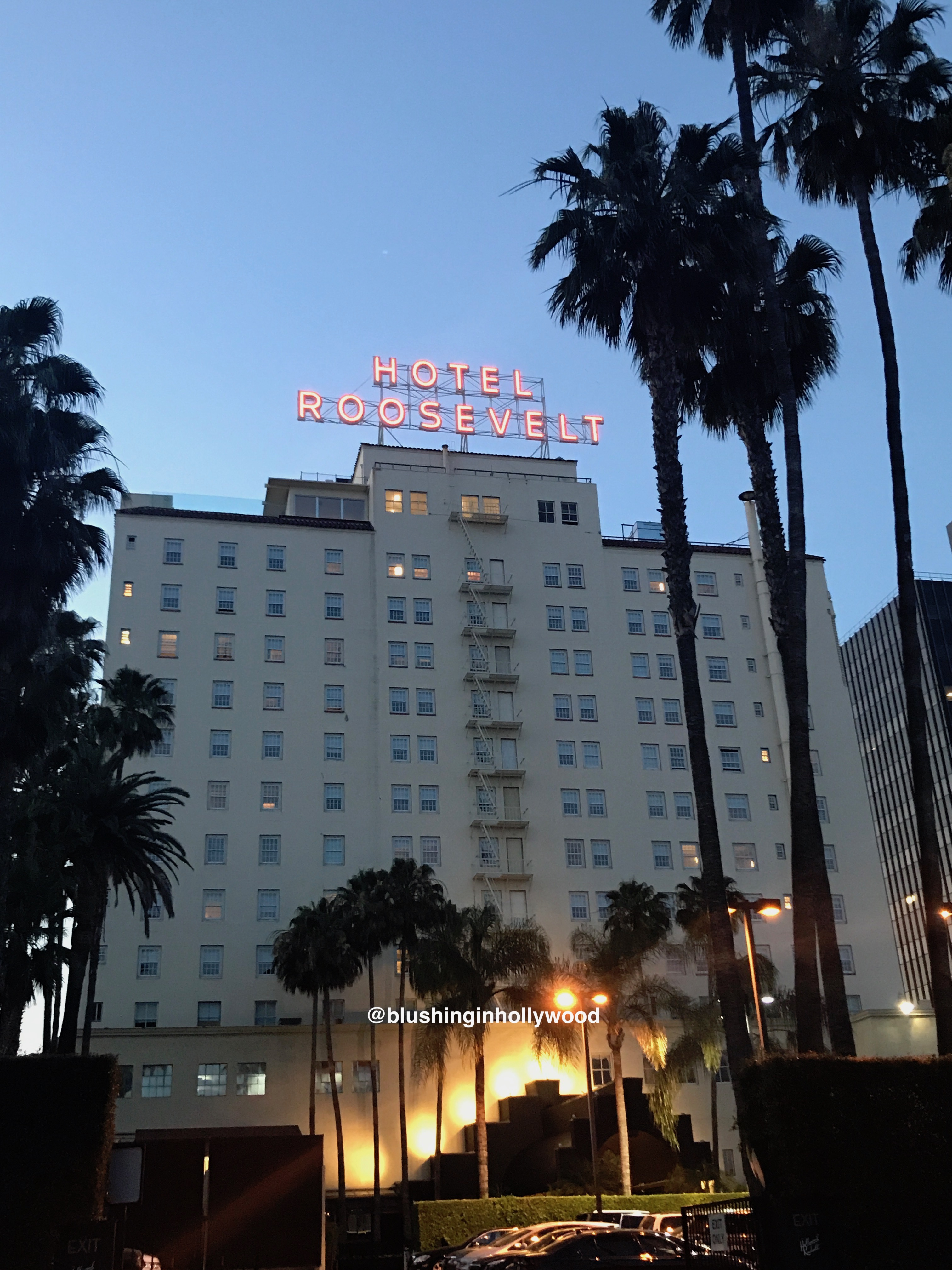 Hollywood Roosevelt Hotel: Blushing In Hollywood