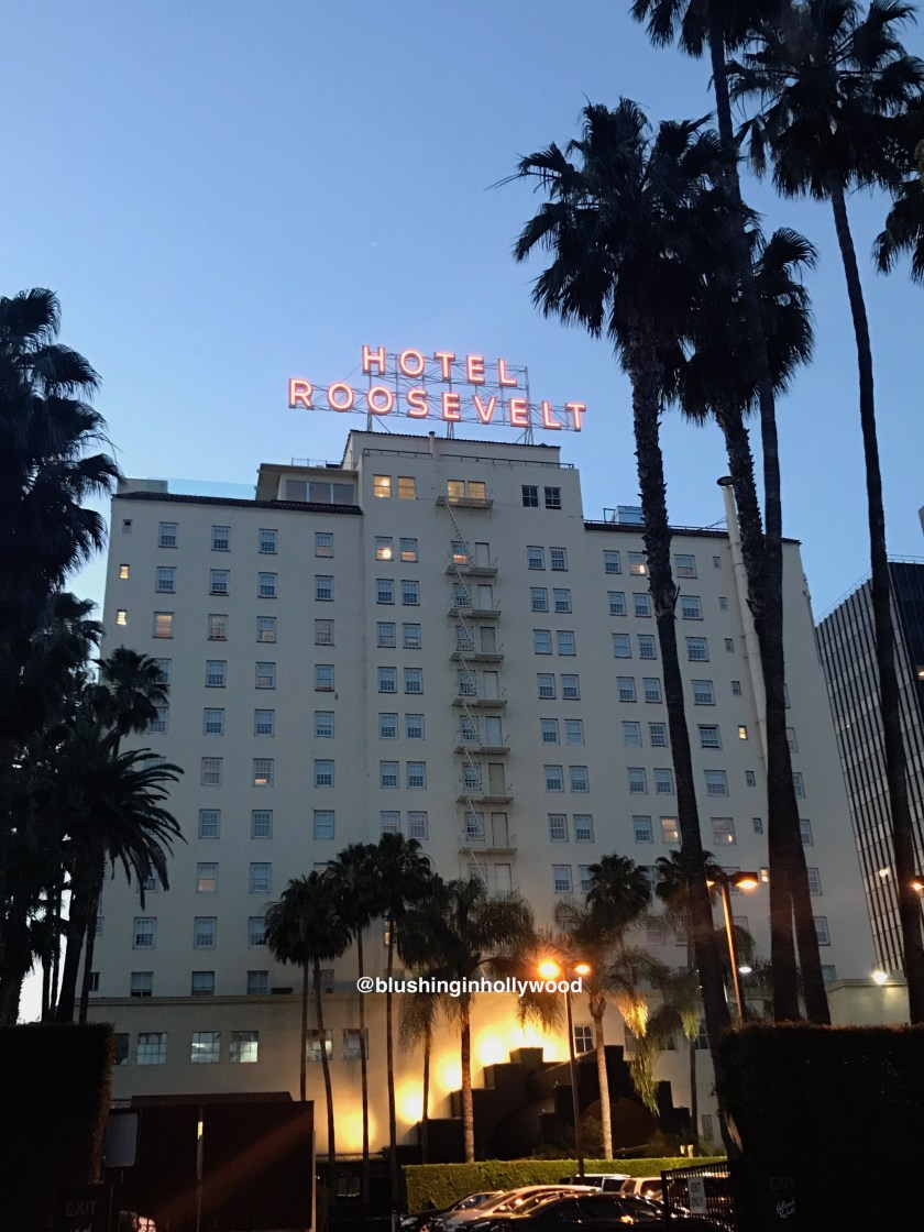 Roosevelt Hotel in Hollywood California