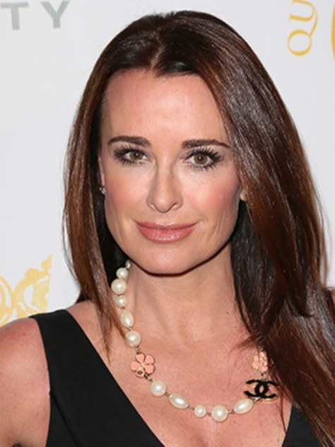 Kyle Richards of Real Housewives of Beverly Hills looking radiant