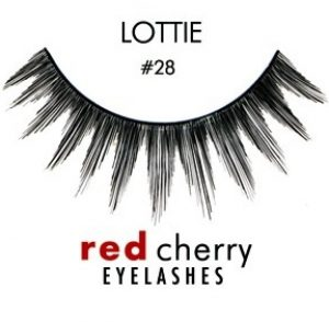 Red Cherry False Eyelashes in Lottie #28. Kyle Richards wore these fake lashes to the Oscars this year!