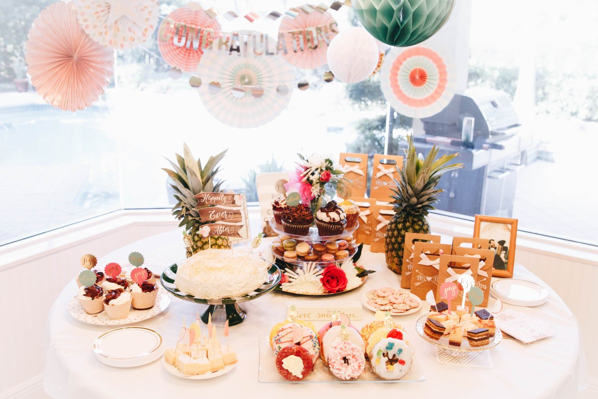 Tropical Bridal Shower Ideas