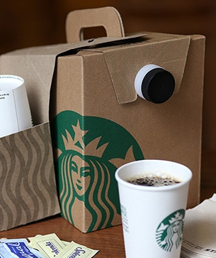 Site Map for the Starbucks Coffee Company website.