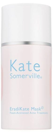 Kate Somerville EradiKate Mask Foam-Activated Acne Treatment is a gel-cream mask that helps clear acne breakouts, dissolve impurities, and minimize the appearance of pores without overdrying the skin.