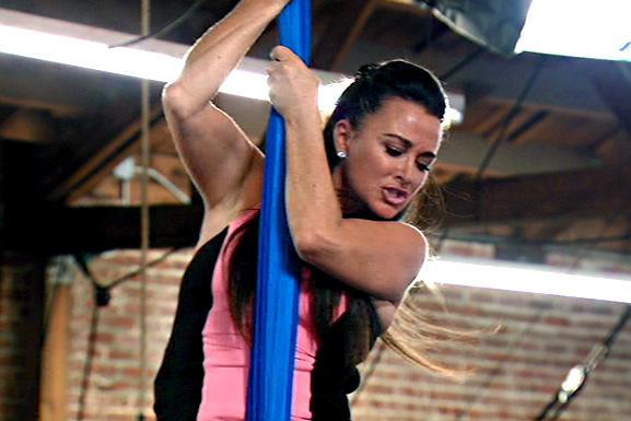 kyle-richards-silks-cirque-school-workout-class