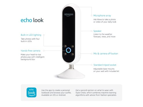 Amazon's Echo Look is about to Take OOTDs to the Next Level