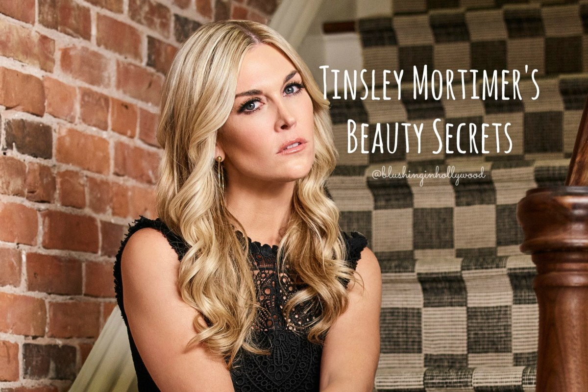 Tinsley Mortimer Beauty Secrets