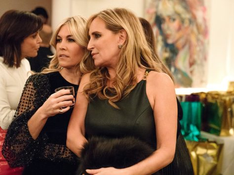 Tinsley Mortimer and Sonja Morgan