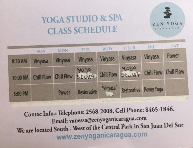 zen-yoga-nicaragua-schedule-2017